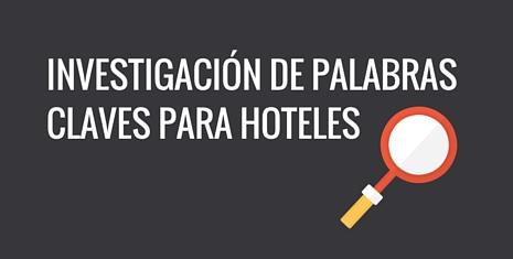 Estudiodepalabrasclaveshotel